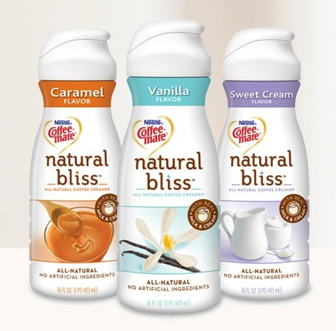 I did however make a healthy switch a couple months ago from the artificially flavored myriad of coffee creamers on the market to Coffee-Mate's Natural ...